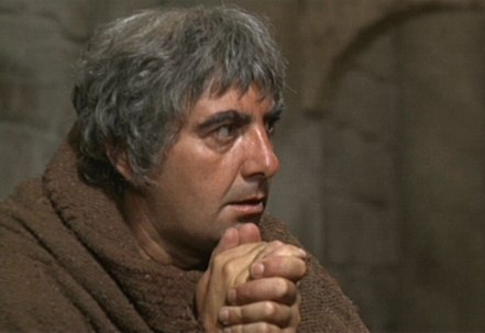 Milo O'Shea as Friar Lawrence in the Franco Zefirelli version of R&J