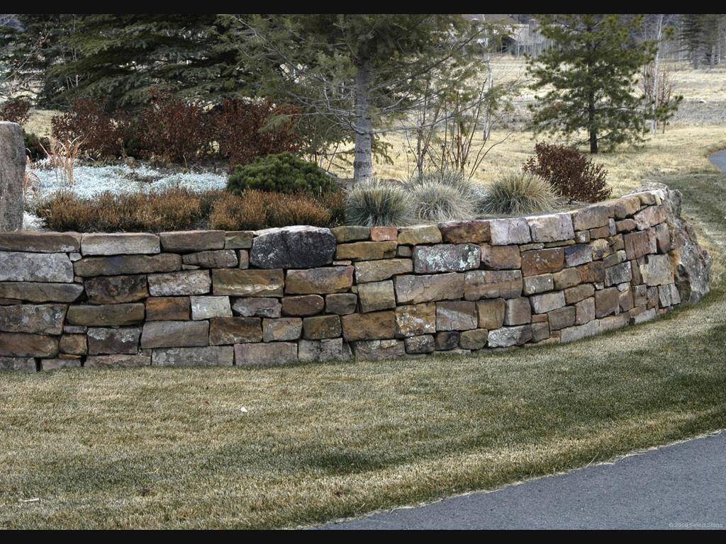All i want for christmas is a 20 000 dry stack stone - Muros de piedra natural ...