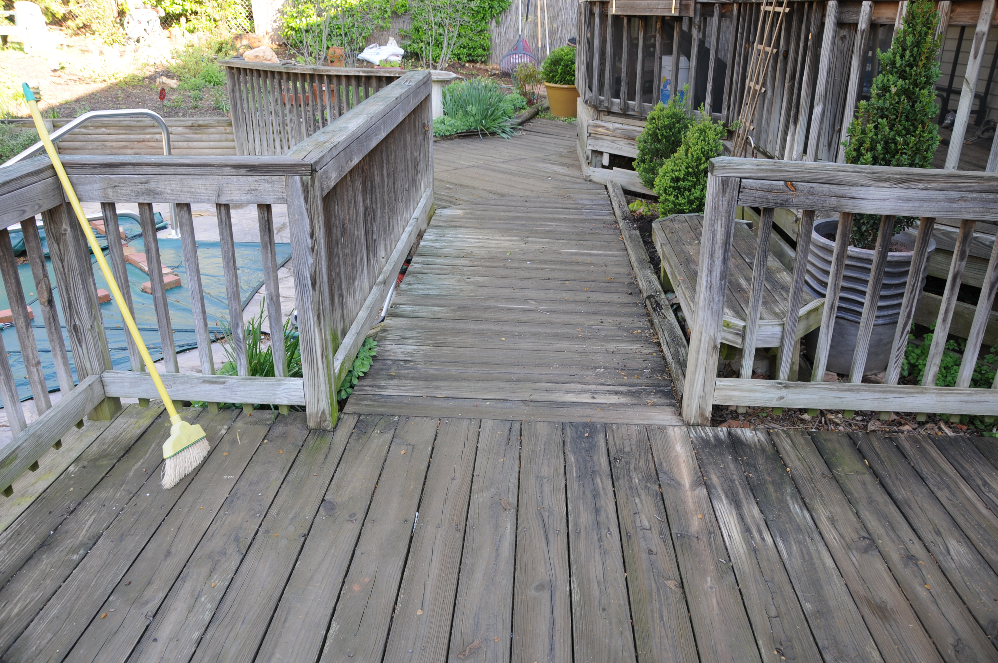 It S Spring Let S Paint The House And Stain The Deck