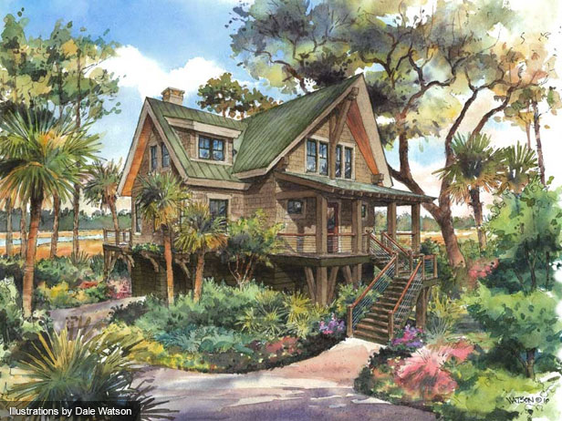 Hgtv 2013 dream house has lots of plants black walnut for Carolina island house cost to build