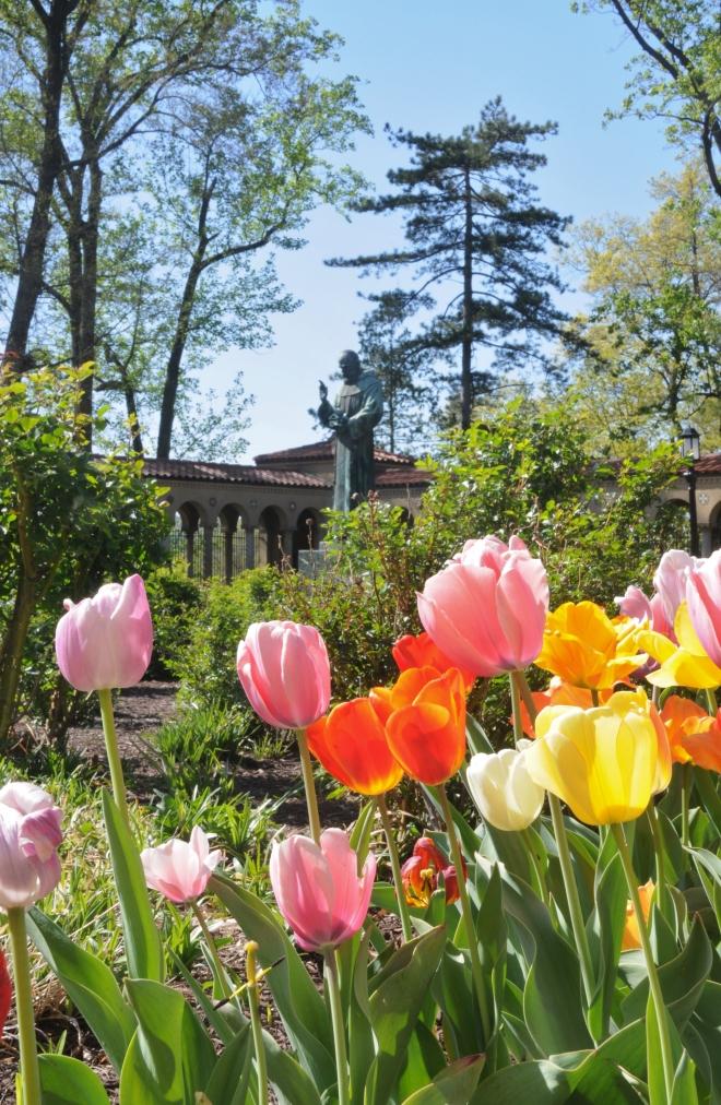 tulipstatue
